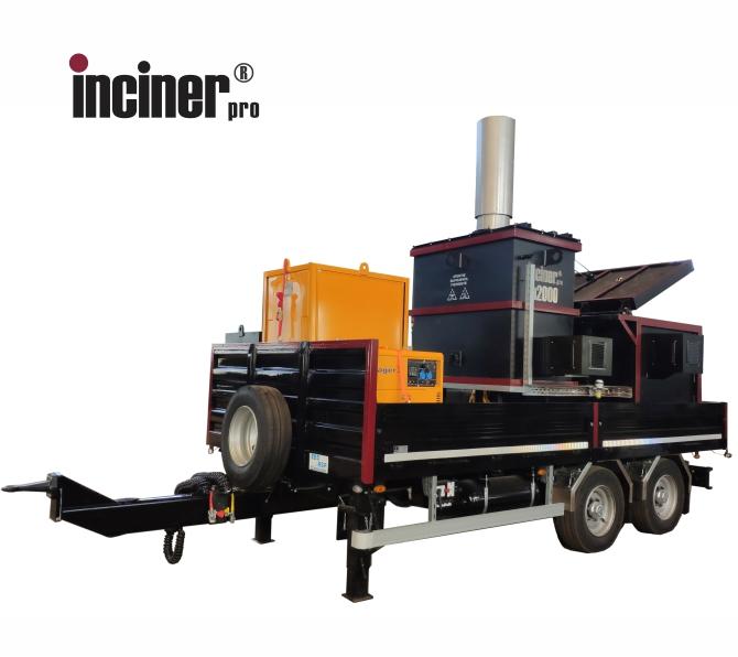 Incinerator mobil IncinerPro a2000